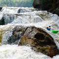 Crystal is a visually spectacular rapid.- Whitewater Paddling The Northeast Classics
