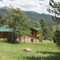 Cabins at the Mueller State Park Campground.- 10 Incredible Colorado State Parks
