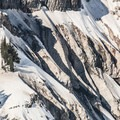 Mount Rainier (14,411 ft) from Nisqually Vista Snowshoe Trail.- Winter in Mount Rainier National Park