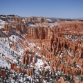 View north from the Bryce Canyon Rim Trail.- Bryce Canyon National Park