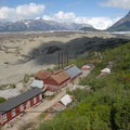 View of Mount Blackburn (16,391 ft) and Kennecott Glacier at Kennecott Copper Mines National Historic Landmark.- Our Guide to Epic Alaskan Summer Explorations