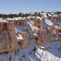 Bryce Canyon Rim from Inspiration Point.- Bryce Canyon National Park