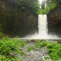 Abiqua Falls.- Oregon's 75 Best Day Hikes