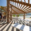 Summer concession and picnic area at Jordanelle Swim Beach.- Jordanelle State Park