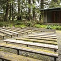 Amphitheater at Mora Campground.- Best Year-round Campgrounds in Washington