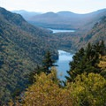 The first views of the Ausable Lakes.- 15 Must-see Fall Foliage Adirondack Adventures