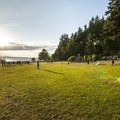 West playing field and day use picnic and playground area in Carkeek Park.- Adventure in the City: Seattle