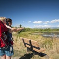 Exploring Walden Ponds outside of Boulder, Colorado.- Three Steps to Creating a More Accessible Outdoors for Kids
