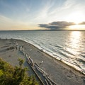 Carkeek Park beach and Puget Sound.- Adventure in the City: Seattle