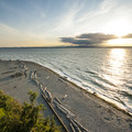 Carkeek Park beach and Puget Sound.- Seattle's Best Day Hikes
