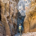 Lick Wash is an easy hike with impressive scenery.- Bureau of Land Management