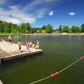 Lake Washington, Juanita Beach Park perimeter pier.- Washington's 50 Best Swimming Holes