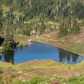 Heart Lake.- 3-Day Itineraries for Olympic National Park