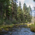 The Middle Fork of the John Day River runs alongside Middle Fork Campground.- A Guide to Camping in Oregon