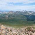 The Northern Front Range seen from Bierstadt's summit.- Denver's Best Day Hikes