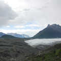 View of Donoho Peak (6,696 ft) and Root Glacier.- An Adventure Weekend in Wrangell-St. Elias National Park