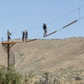 Zipline Utah at Rainbow Bay Day Use Area, Deer Creek State Park.- 3-Day Summer Itinerary in Park City, Utah