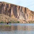 Canyon Lake may be the most beautiful stop along the Apache Trail Scenic Byway.- 10 Favorite Autumn Adventures in Arizona