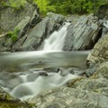 A waterfall on True's Brook.- 20 Must-Do Summer Adventures in New Hampshire