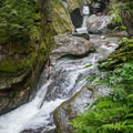 Lower cascade of Texas Falls.- The Ultimate Fall Foliage Road Trip in Vermont