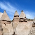 Tent rocks along the Slot Canyon Trail.- Six Must Do Hikes Around Santa Fe + Taos