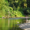 Molalla River at Knights Bridge Park.- 31 Best Beaches + Swimming Holes in-and-around Portland, Oregon