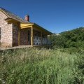 Persse Place homestead off of the Fountain Valley Trail in Roxborough State Park.- State Parks You Can't Miss