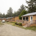 Cabins at Hobuck Beach Resort + Campground.- 5 Great Winter Lodging Options on the Olympic Peninsula