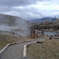 Trail leading to the Boiling River Hot Springs in Yellowstone National Park.-  Hot Springs, Geysers, and Other Geothermal Activity