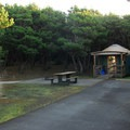 Yurt campsite in Grayland Beach State Park Campground.- Best Year-round Campgrounds in Washington