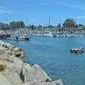 The harbor at Seabright Beach.- Beat the Heat: 20 Summer Escapes Near San Francisco