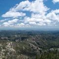 View from the top of Black Elk Peak.- Black Elk Peak via Willow Creek