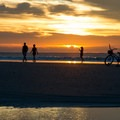 Coligny Beach is great for biking and walking.- 3-Days of Exploring South Carolina's Coast