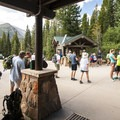 Shuttle drop off and Bear Lake Trailhead.- Rocky Mountain National Park