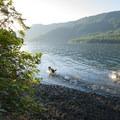 Lake Crescent from La Poel Day Use Area.- Washington's 50 Best Swimming Holes