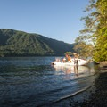 Lake Crescent from La Poel Day Use Area.- 5 Reasons to make the trip to Lake Crescent