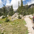 Approaching Dream Lake.- Colorado's Top 10 Outdoor Destinations