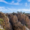 The bridge over Hell's Backbone.- Summer Road Trip Destinations in Idaho, Colorado, and Utah