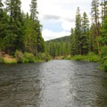 The Metolius River from Pioneer Ford Campground.- A Guide to Camping in Oregon