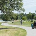 Sloan's Lake perimeter loop trail at Sloan's Lake Park.- Denver's Best Parks