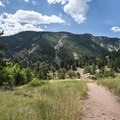 View south of Flagstaff Mountain (6,983 ft) from Red Rocks.- How to Microadventure Like a Badass