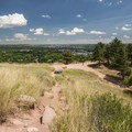 View east to Boulder from Red Rocks.- How to Microadventure Like a Badass