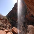 110-foot Lower Emerald Pool Falls and Behunin Creek Falls.- 4 Tips to Help You Prepare for Zion National Park