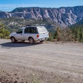 Hell's Backbone road amazes the entire way.-  The West's Best Road Trips