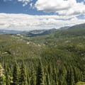 View looking northeast over Glacier Creek Valley.- Denver's Best Day Hikes