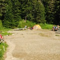 Mowich Lake Campground.- A Guide To Camping in Washington