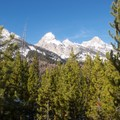 Grand Teton view from Taggart Lake Trail.- The Ultimate Western National Parks Road Trip