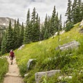 Diamond Lake Trail in the Indian Peaks Wilderness.- Epic Adventures in Colorado's Indian Peaks Wilderness