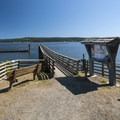 Sequim Bay State Park dock/marina.- Best Year-round Campgrounds in Washington