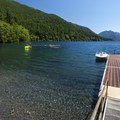 Lake Crescent from Fairholme Beach.- Washington's Best Lakes